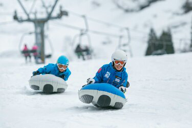 長靴で遊べるスノーアクティビティ/松之山温泉スキー場スノーパーク(新潟県)