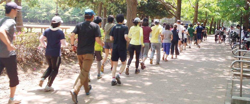 青空スポーツ教室~親子マラソン教室~ in 城北中央公園 | 東京都