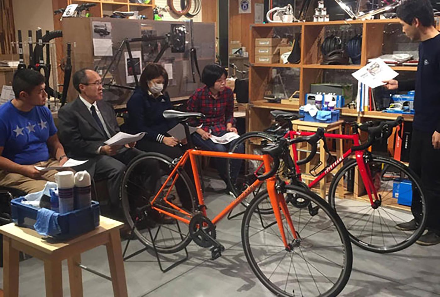 ロードバイク入門講座   東京都