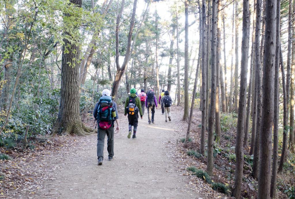 山歩き講習会 <楽になる山歩き編>   奈良県