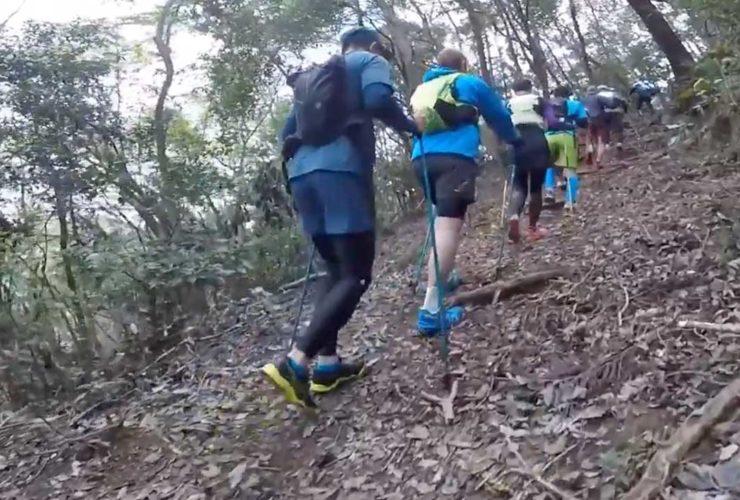 プロ山岳アスリート小川壮太トレランポール講習会