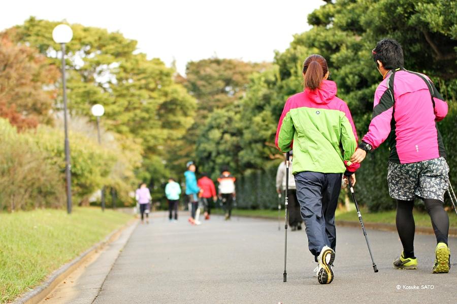 「歩く」から始める健康スポーツ