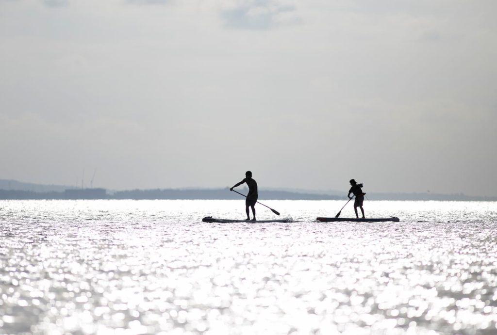 スタンドアップパドルサーフィンスクール | 茨城(涸沼湖・FOWARD)