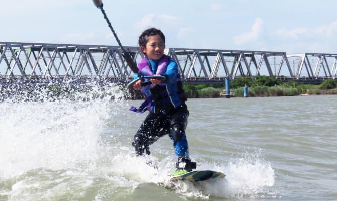 ウェイクサーフィン初心者体験コース