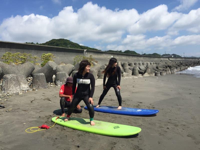 Approach Ocean Sports サーフィン コーチング ステップUPコース/静岡(静波、吉田方面)
